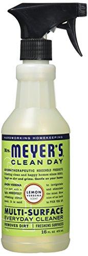 Mrs. Meyer's Clean Day Multi-Surface Everyday Cleaner, Lemon Verbena, 16 ounce bottle from Mrs. Meyer's Clean Day