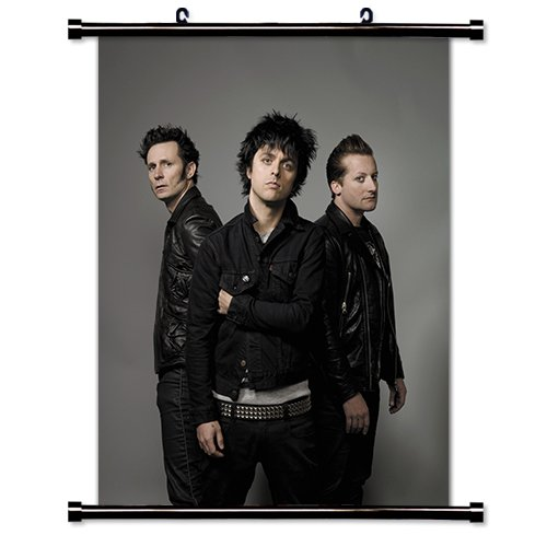 Green Day Alternative Rock Band Fabric Wall Scroll Poster