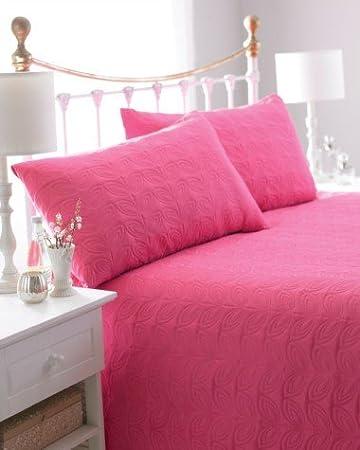 2 Kissenbez/üge Plaid Bettgarnitur Decke Gesteppt Patcwhwork Rot Tagesdecke Bett/überwurf /Überwurf f/ür Doppelbett 240 X 260 CM