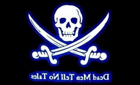 Hemau 3x5 Dead Men Tell No Tales Pirate Flag Skull Crossbones Swords Death Huge 3X5 | Model FLG - 9094 ()