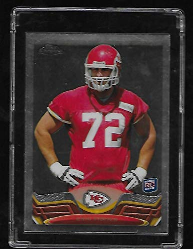 Eric Fischer 2013 Topps Chrome Football Rookie Card #166 - Kansas City Chiefs - Stored in a Protective Plastic Display Case!! ()