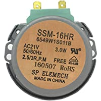 SSM-16HR GM-16-2F302 Microwave Oven Turntable Carousel Synchronous Motor AC21V 2.5/3 RPM