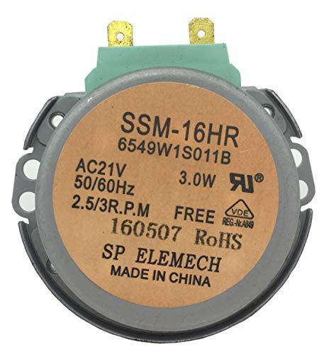 SSM-16HR GM-16-2F302 Microwave Oven Turntable Carousel Synchronous Motor AC21V 2.5/3 - Motor Carousel