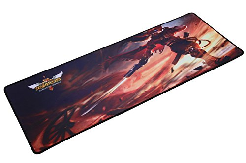 LOL Large Gaming Mouse Pad X-Large,LOL league of legends Wide & Long Mousepad 12