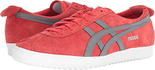 Onitsuka Tiger by Asics Mexico Delegation Synthetik Turnschuhe Red Alert/Carbon