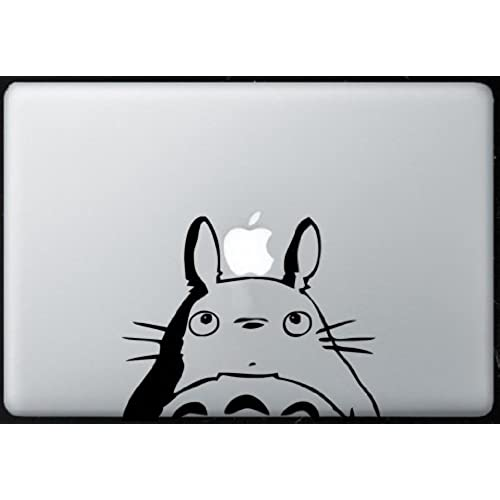 Totoro sticker decal macbook air pro all models