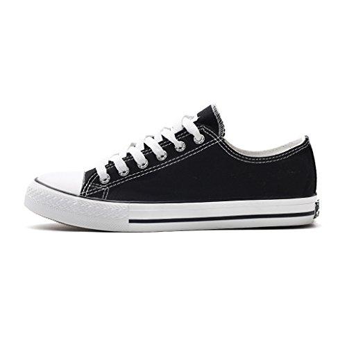 Pareja Sandales Casual Planos Zapatos Nuevo Coreana De Bang Verano Temporada Estilo Estudiantes Lona Blanco Gao Cómodo Versión gYpqYwUr