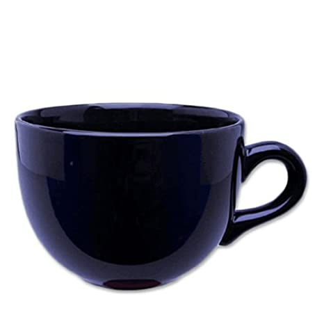 Jumbo Extra Large Ceramic Coffee /& Soup Mug 22 ounce Cobalt Blue Pack of 2