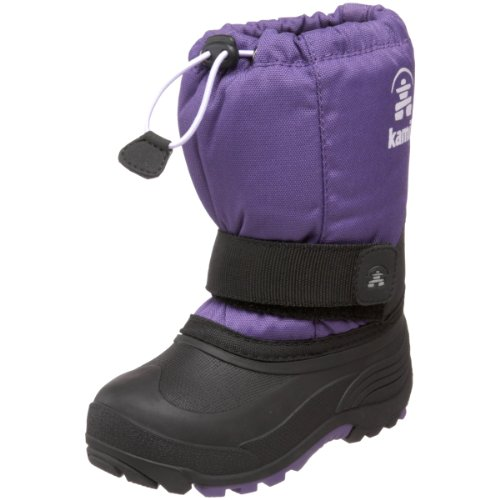 Kamik Rocket Cold Weather Boot (Toddler/Little Kid/Big Kid),Deep Purple,9 M US Toddler by Kamik (Image #1)