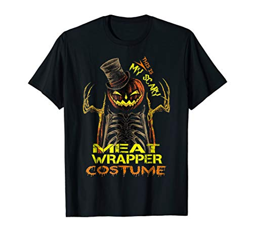 This is my scary MEAT WRAPPER halloween -