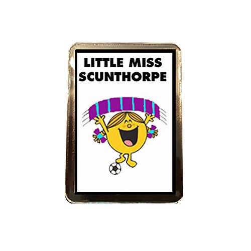 fan products of Scunthorpe United F.C - Little Miss Football Fridge Magnet