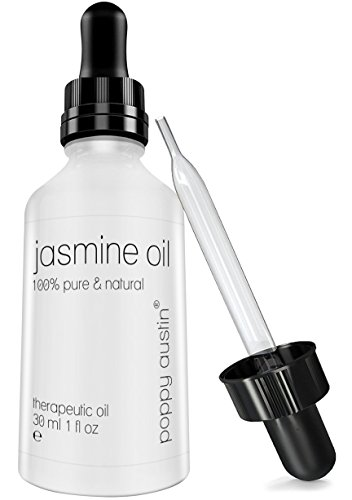 Therapeutic essential oils. Finest Jasmine Essential Oil (Jasminum Officinale) Therapeutic Grade - Cruelty-Free, 100% Pure, Organic & Undiluted Jasmine Oil, 1 oz