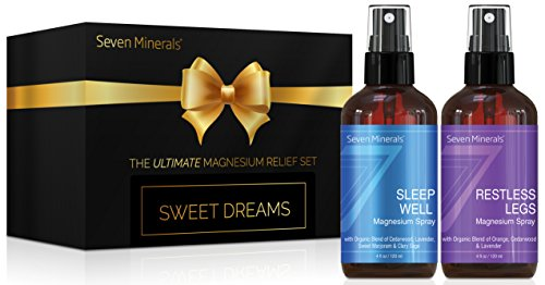 Sweet Dreams Gift Pack by Seven Minerals - Relaxing Gifts Set with...