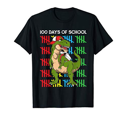 100 Day Of School Shirt Ideas (100th Days Of School Shirt Dinosaur T Rex 100 Days)