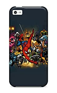 New Style Tpu 5c Protective Case Cover/ Iphone Case - Marvel