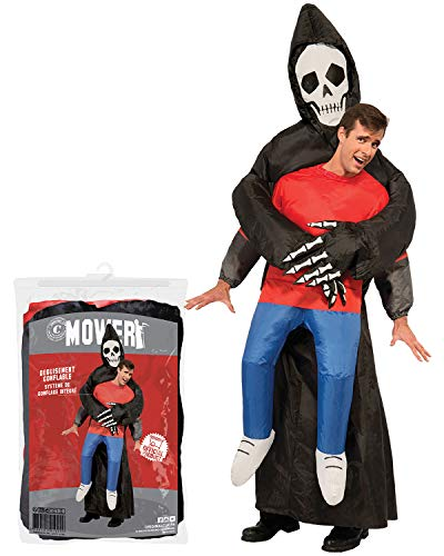 Inflatable Grim Reaper Costume | Quirky Halloween Costume | Original | Premium Quality | Adult Size | Polyester | Comfortable | Resistant | Inflation System Included | OriginalCup®