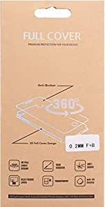 Gelatin Full Cover Screen Protector For Samsung Galaxy S6 edge, Clear