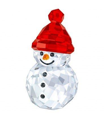 Swarovski Rocking Snowman Holiday Figurine