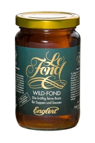 Wild-Fond - Bratensoße, Sauce, Grundbrühe für Wildbraten (350 ml. / Glas)