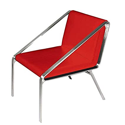 Astonishing Amazon Com Bellini Modern Living Owen Accent Arm Chair Red Caraccident5 Cool Chair Designs And Ideas Caraccident5Info