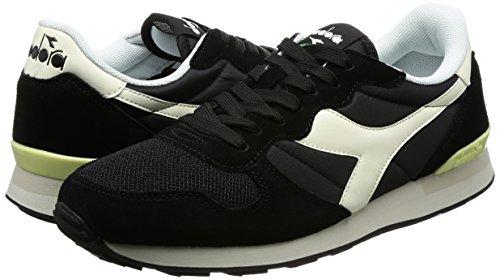 Unisex Sospiro 47 Bianco Diadora Nero Sneakers Adulto Nero Camaro EU xWa4wO