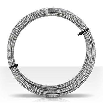 Amazon.com: Guy Wire 100\' FT 20 GA 6 Strand Galvanized Steel Antenna ...