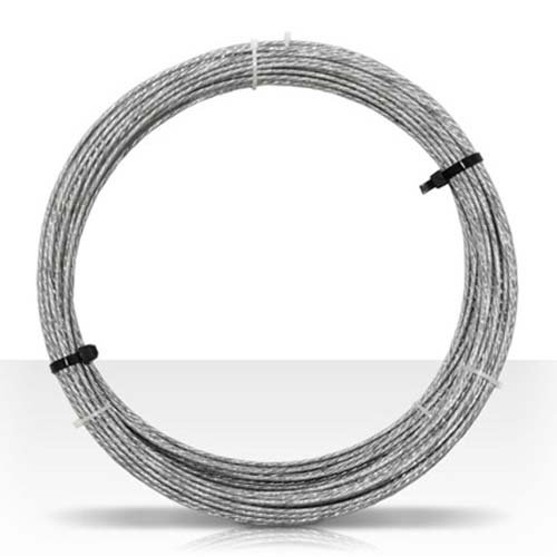 Roof Pipe Support - Guy Wire 100' FT 20 GA 6 Strand Galvanized Steel Antenna Master Mast Antenna Support Cable 20 Gauge Guy Wire Cable Support Off-Air Aerial Mast Pipe Roof Mount