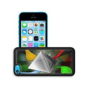 Abstract Artistic Multi Color Geometry iPhone 5C Case Cover niuniu's case