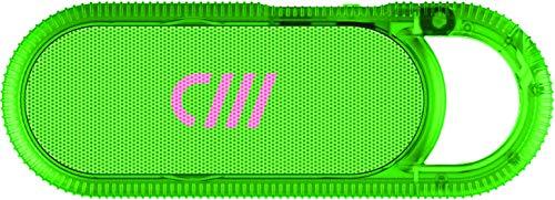Hi-Fi Jelly Series Wireless Neon Green Hook Speakers