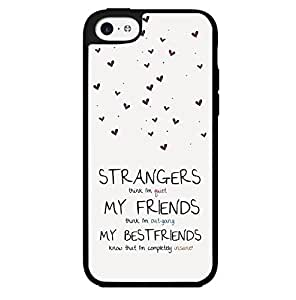 Best Friend Quote Hard Snap on Phone Case (iPhone 5c)
