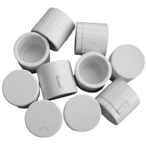 - Genova Products 30155CP 1/2-Inch PVC Pipe Cap, Slip - 10 Pack