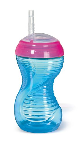 Amazon.com : Munchkin 2 Pack Mighty Grip Straw Cup, 10 Ounce, Colors May  Vary (Discontinued by Manufacturer) : Sippy Cups : Baby