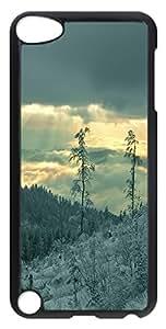 ipod 5 CaseWinter Hills PC Custom iPhone 5C Case Cover Black