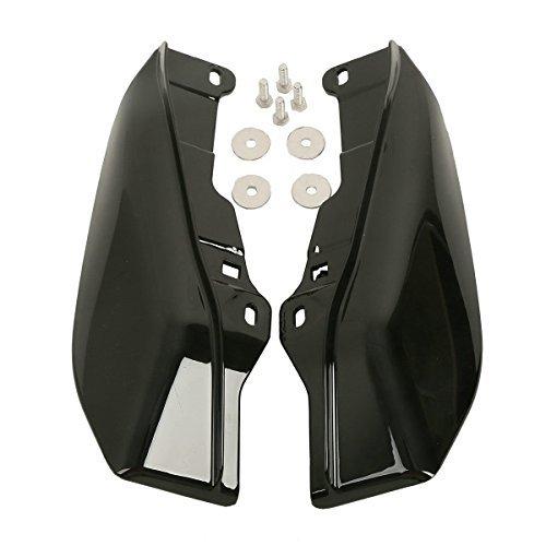 Black Mid-Frame Air Deflectors For Harley Davidson FL Electra Street Glide New