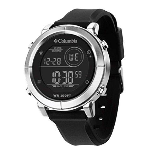 Columbia Digital Chronograph Men's Watch 30M Water Resist Scout CT014 - Black Columbia