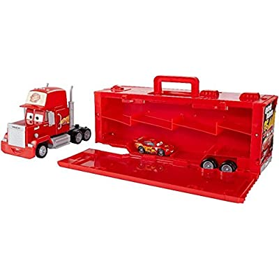 Cars Mack Hauler 16 Carry Case for 1:55 Scale Diecasts: Toys & Games