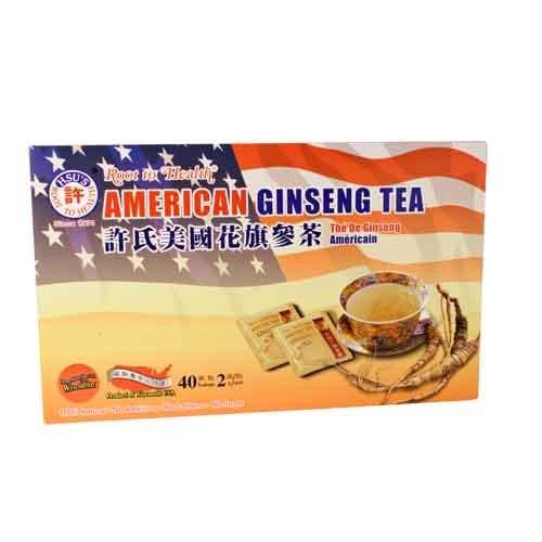 Ginseng Root Tea (American Ginseng Tea 40's)