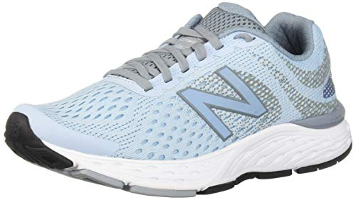New Balance Women's 680v6 Cushioning Running Shoe, air/Reflection, 8 B US