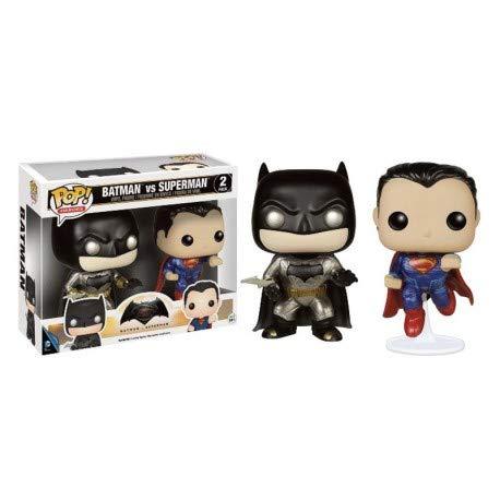 Funko POP! Heroes 3.75Vinyl Figure: Batman v Superman Metall