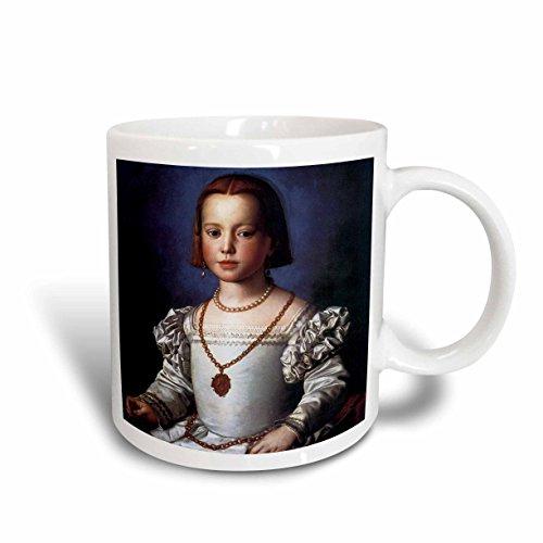 Medici Mug (3dRose (mug_128039_1) Bia DE Medici by Agnolo Bronzino - Ceramic Mug, 11-ounce)