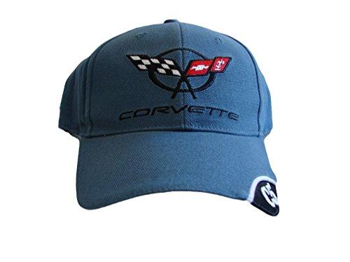 Chevrolet C5 Corvette Men's Embroidered Hat (Blu