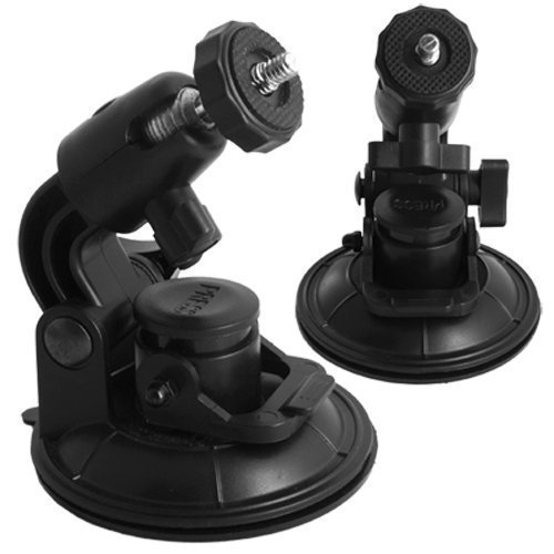 Horiya Accessories Universal In Car Windscreen Window Suction Cup Mount Tripod Mini Holder For Digital Camera And Camcorders