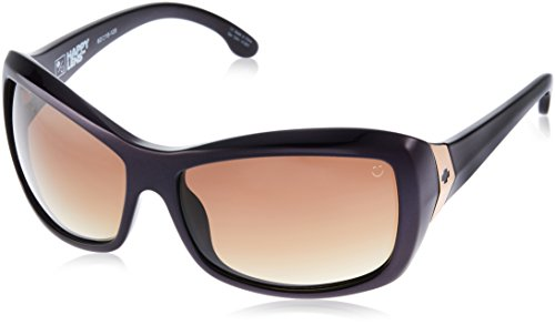 Spy Optic Women's Farrah 673011083355 Oval Sunglasses, Deep Purple & Happy Bronze Fade, 62 mm