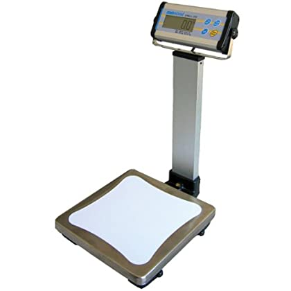 Image of Postal Scales Adam Equipment CPWplus 6P Pillar Display Bench Scale, 13lb/6000g Capacity, 0.005lb/2g Readability
