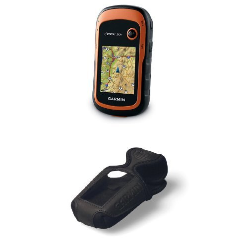 Garmin eTrex 20x with Garmin eTrex Carrying Case