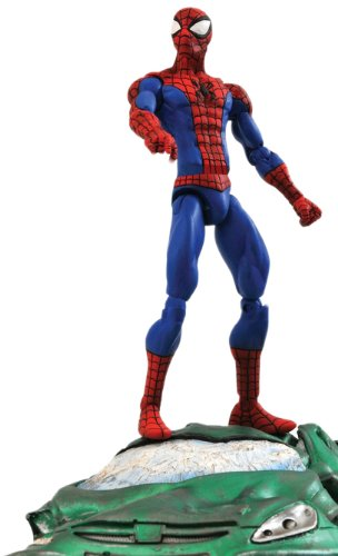 Spider Man New Costumes Comic (Diamond Select Marvel Spider-Man Action Figure)