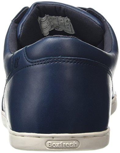 Boxfresh Spencer Icn Lea Nvy L - Zapatillas Hombre Azul - azul (Navy)