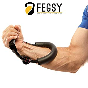 FEGSY Forearm Wrist Strengthener Exercise Equipment for Strength Training, Workout, and Fitness Gift Item