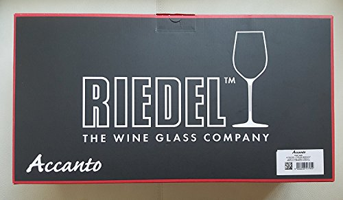 Riedel Accanto Lead Free Crystal 24.75 Oz Pinot Noir Red Wine Glasses Set of 4