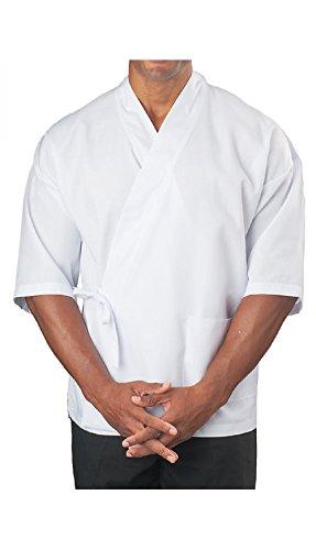 ¾ Sleeve Sushi Coat, White, S